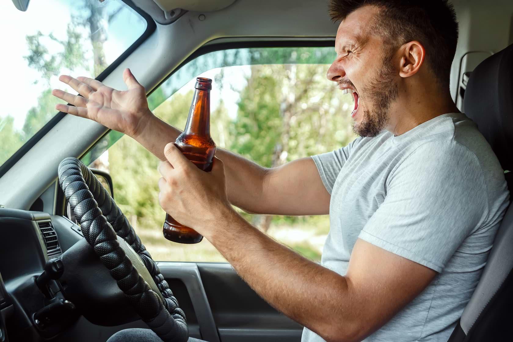 estado de ebriedad e influencia del alcohol