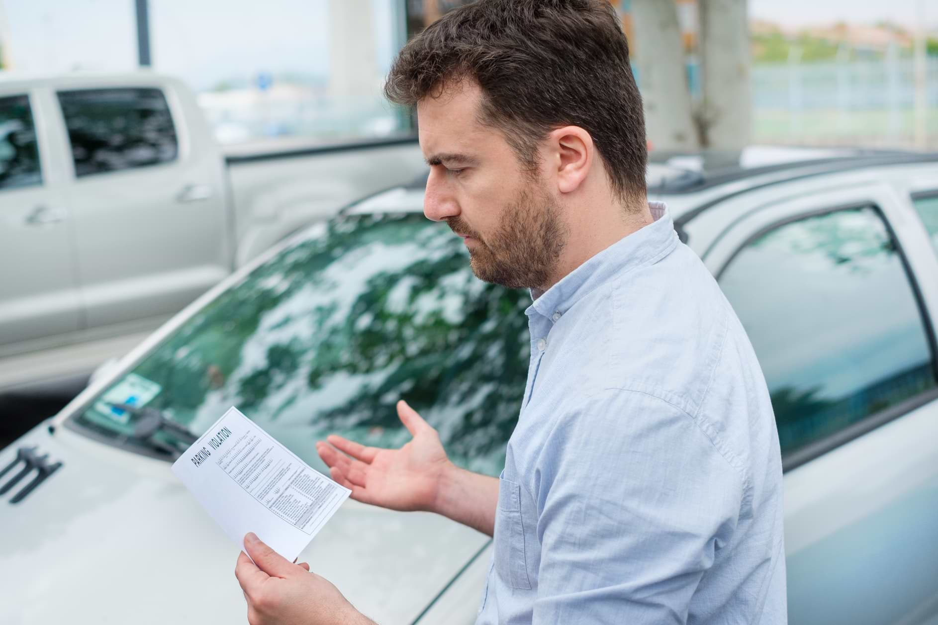 carta de apelación por multa de tránsito