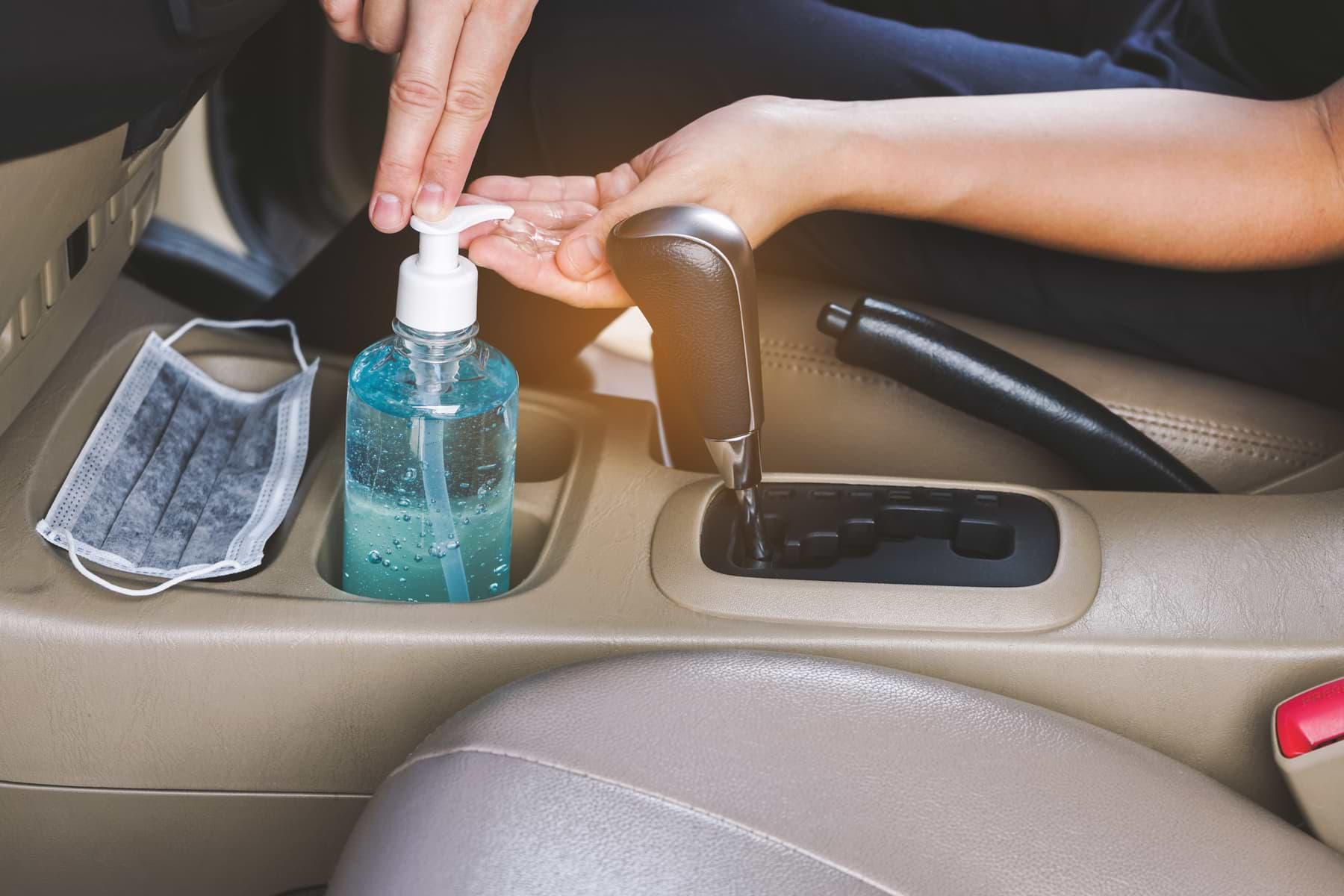kit de limpieza auto