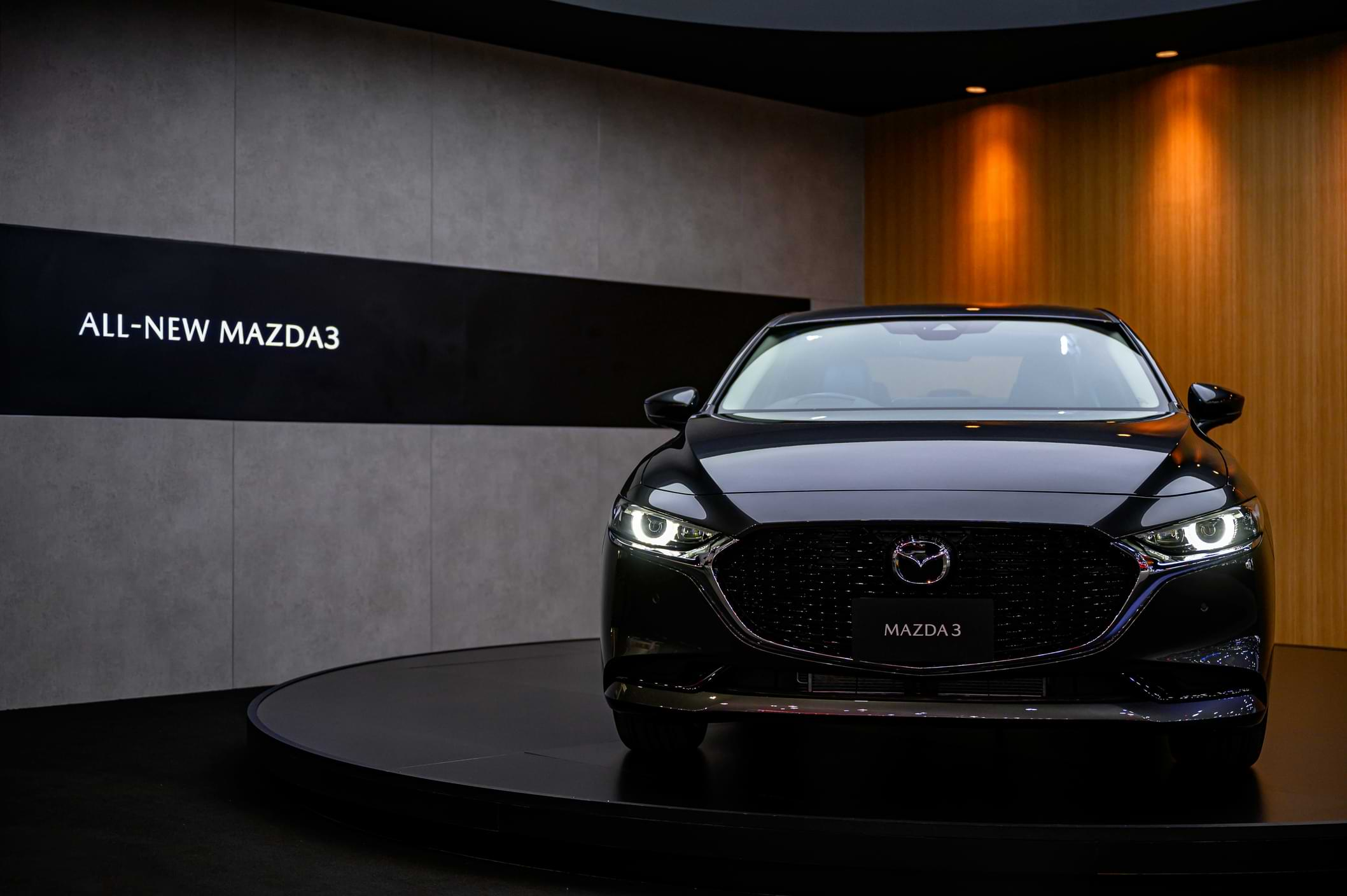 All New Mazda 3 sedán